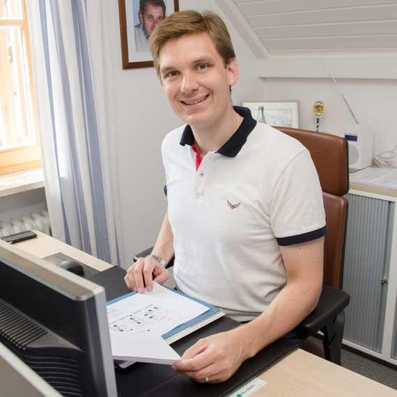 Büroeinrichter Daniel Graf berät Sie gerne